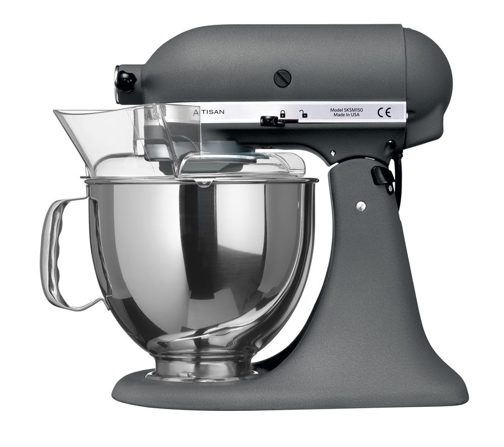 buy kitchenaid 5ksm150psbms artisan stand mixer medallion silver free delivery currys. Black Bedroom Furniture Sets. Home Design Ideas