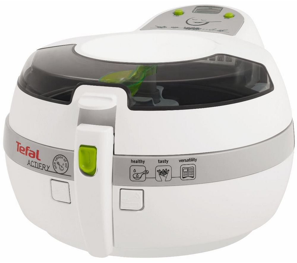 buy tefal gh806115 actifry plus fryer white free delivery currys. Black Bedroom Furniture Sets. Home Design Ideas