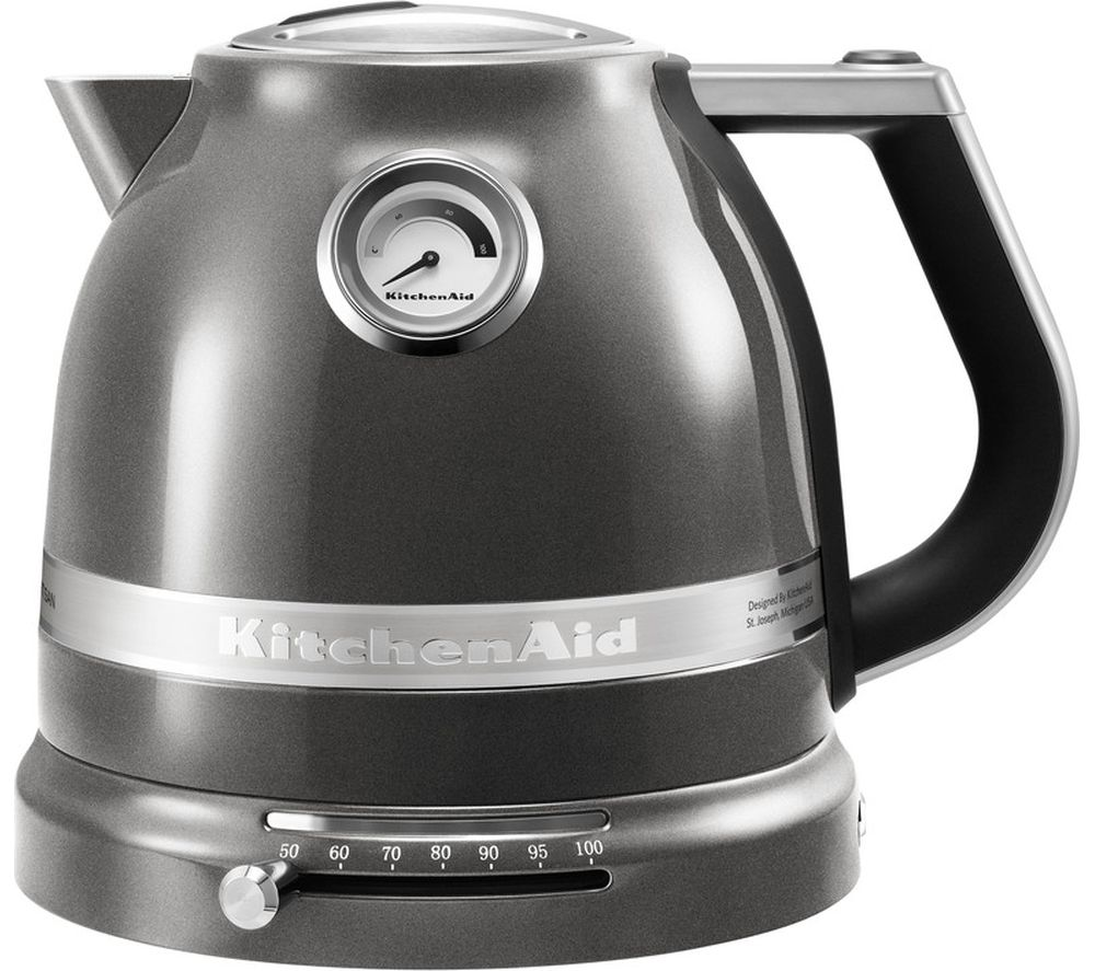 Buy Kitchenaid 5kek1522bms Artisan Jug Kettle Silver