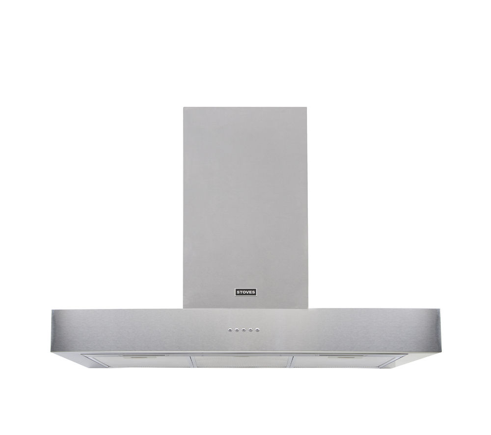 STOVES  ST 900 Sterling 444442854 Cooker Hood  Stainless Steel Stainless Steel