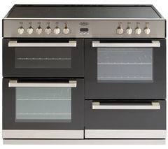 BELLING DB4 110E Electric Ceramic Range Cooker - Stainless Steel