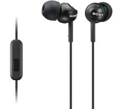 SONY MDR-EX110APB Headphones - Black