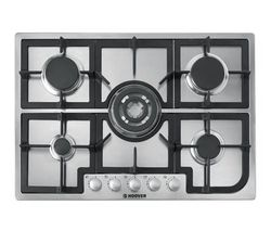 HOOVER HGH75SQCX Built-in Gas Hob - Stainless Steel