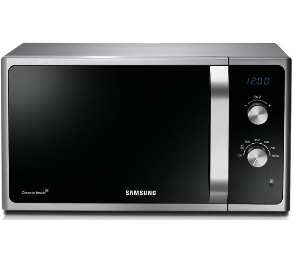 Samsung MS23F301EAS Solo Microwave  Silver Silver