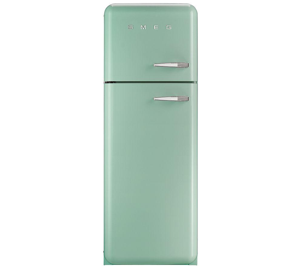 Image of Smeg FAB30LFG Fridge Freezer - Pastel Green, Green