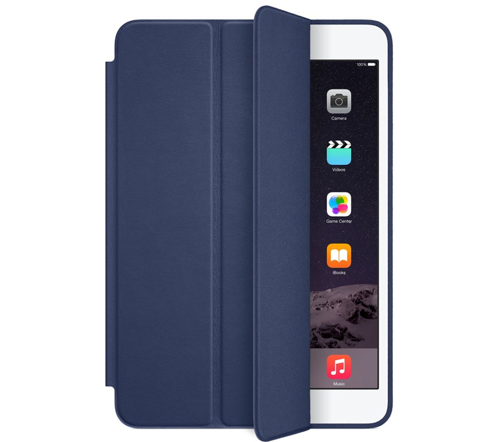 buy apple ipad mini smart case blue free delivery currys. Black Bedroom Furniture Sets. Home Design Ideas