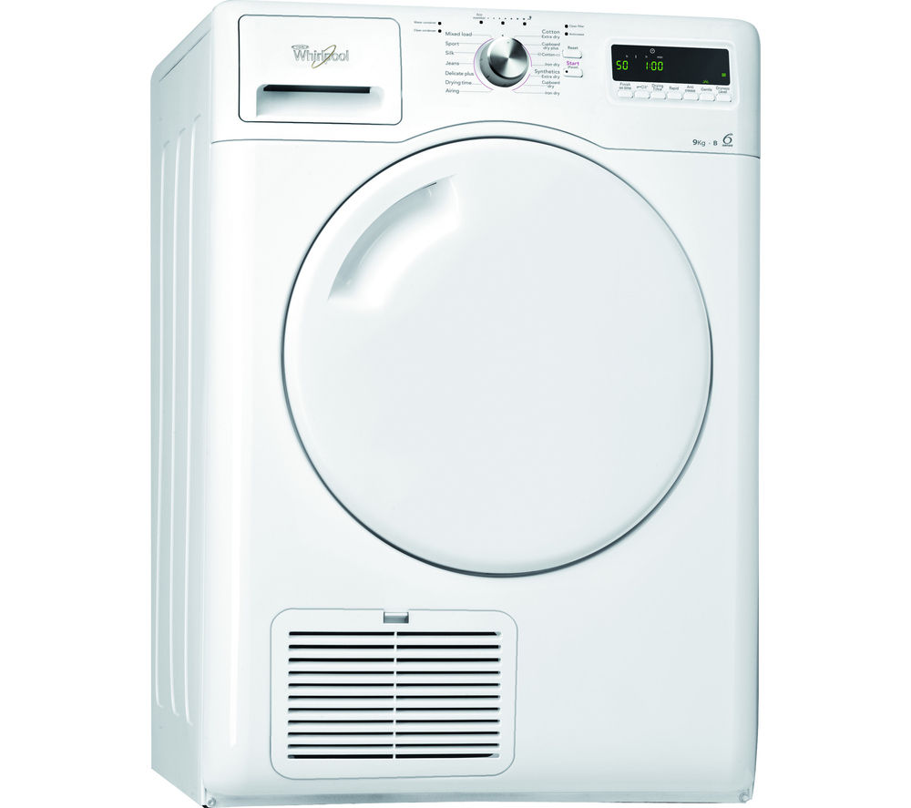 Component Tumble Dryer ~ Whirlpool azb condenser tumble dryer white