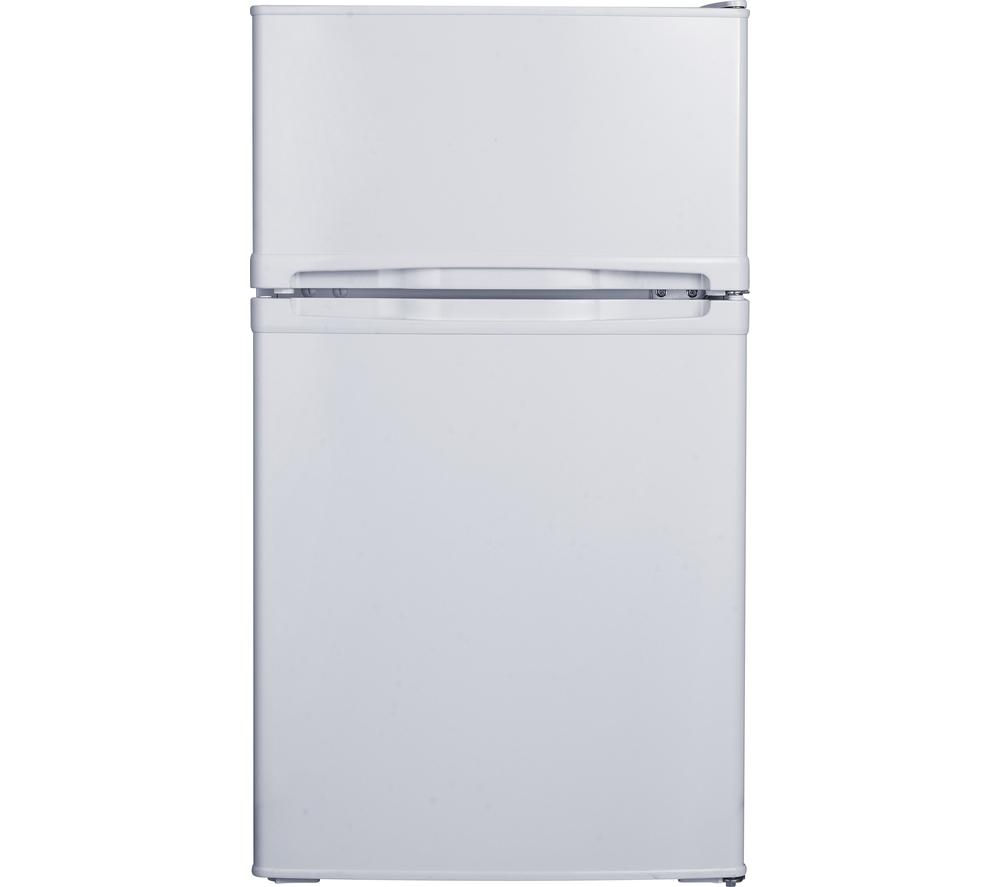 ESSENTIALS  CUC50W15 Fridge Freezer  White White