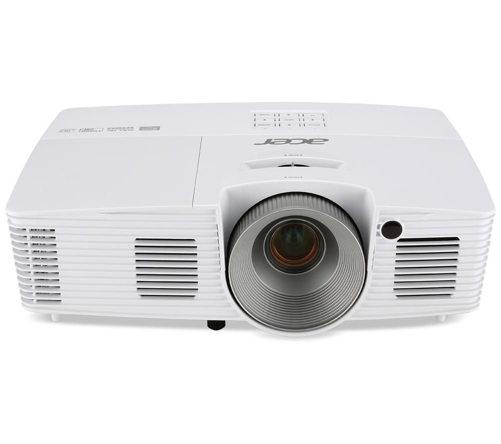 Acer h6517st short throw full hd home cinema projector for Hd projector reviews