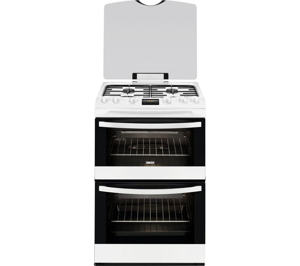 Uncategorized Zanussi Kitchen Appliances buy zanussi zcg63330wa 60 cm gas cooker white free delivery white