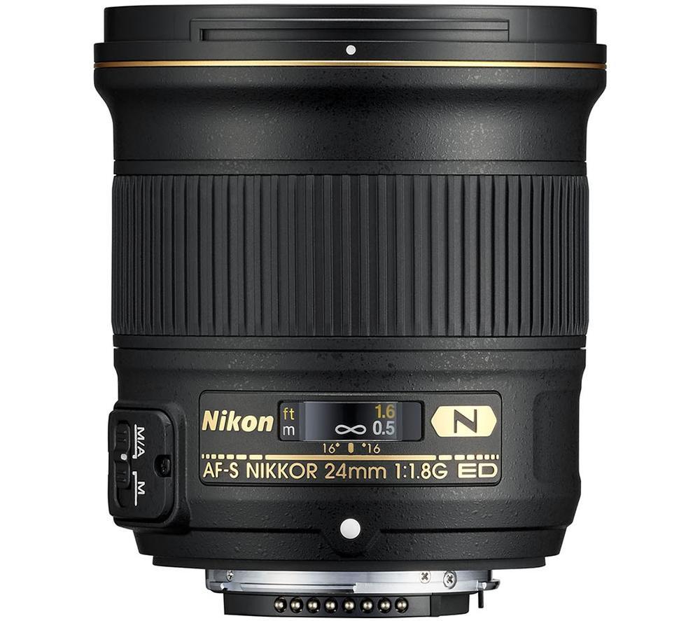 NIKON AF-S NIKKOR 24 mm f/1.8G ED Wide-angle Prime Lens