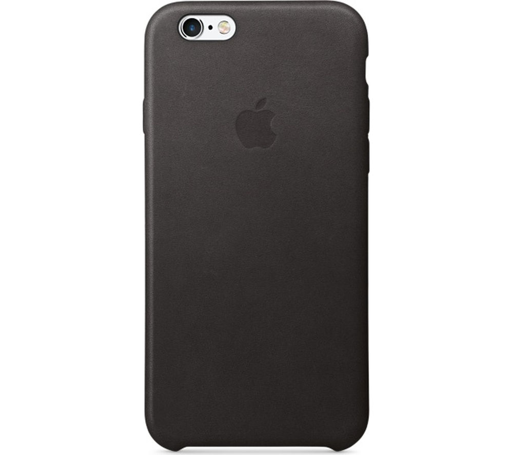 APPLE Leather iPhone 6s Case - Black