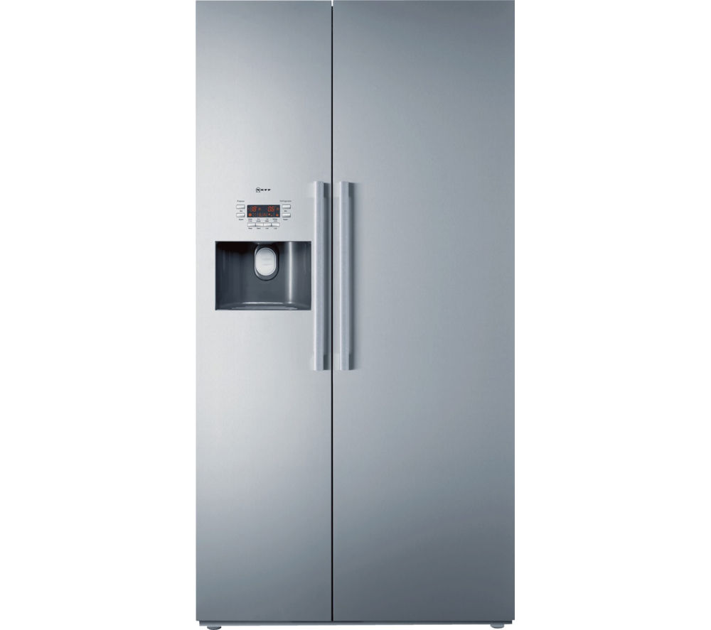NEFF  Series 5 K3990X7GB AmericanStyle Fridge Freezer  Stainless Steel Stainless Steel