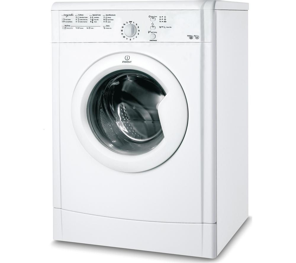 INDESIT  IDVL75BR Vented Tumble Dryer  White White