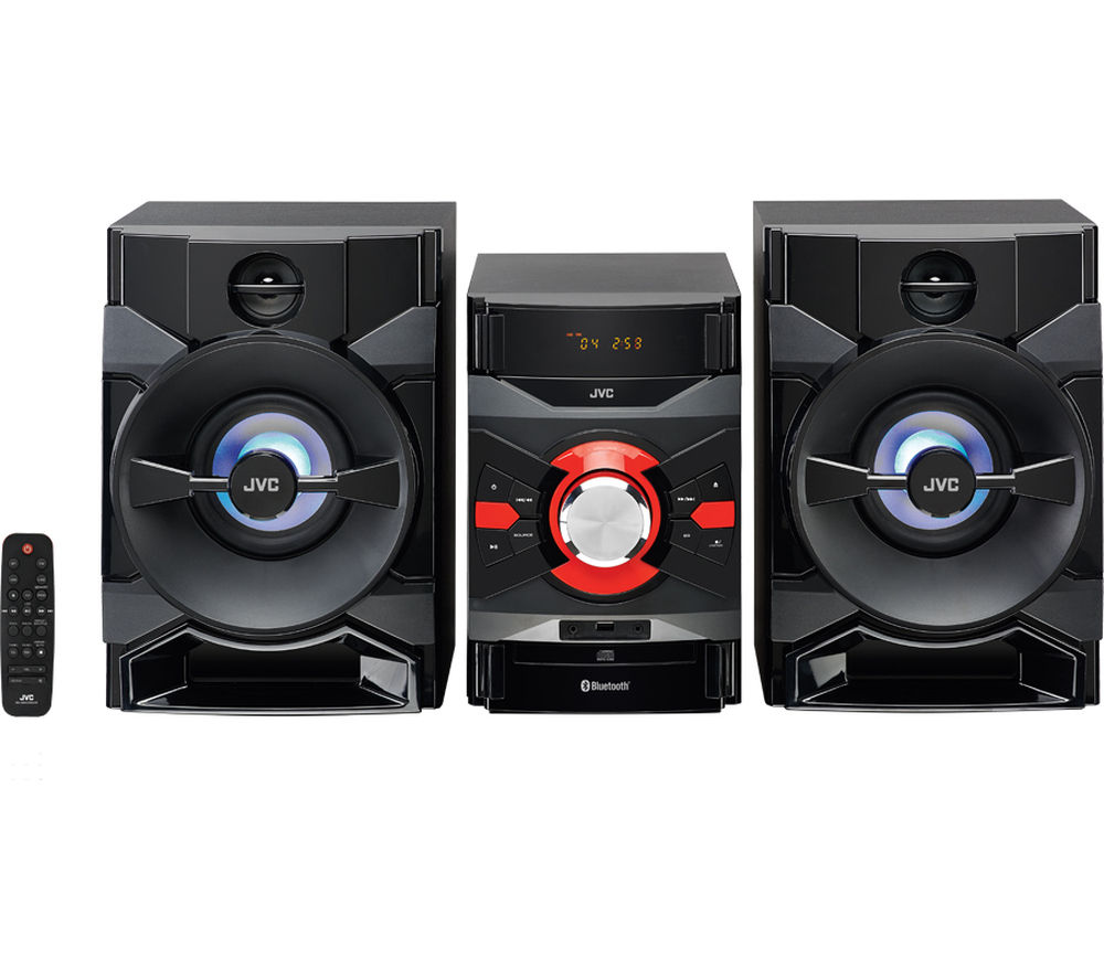 Click to view more of JVC  MX-DN550 Megasound Hi-Fi System - Black, Black