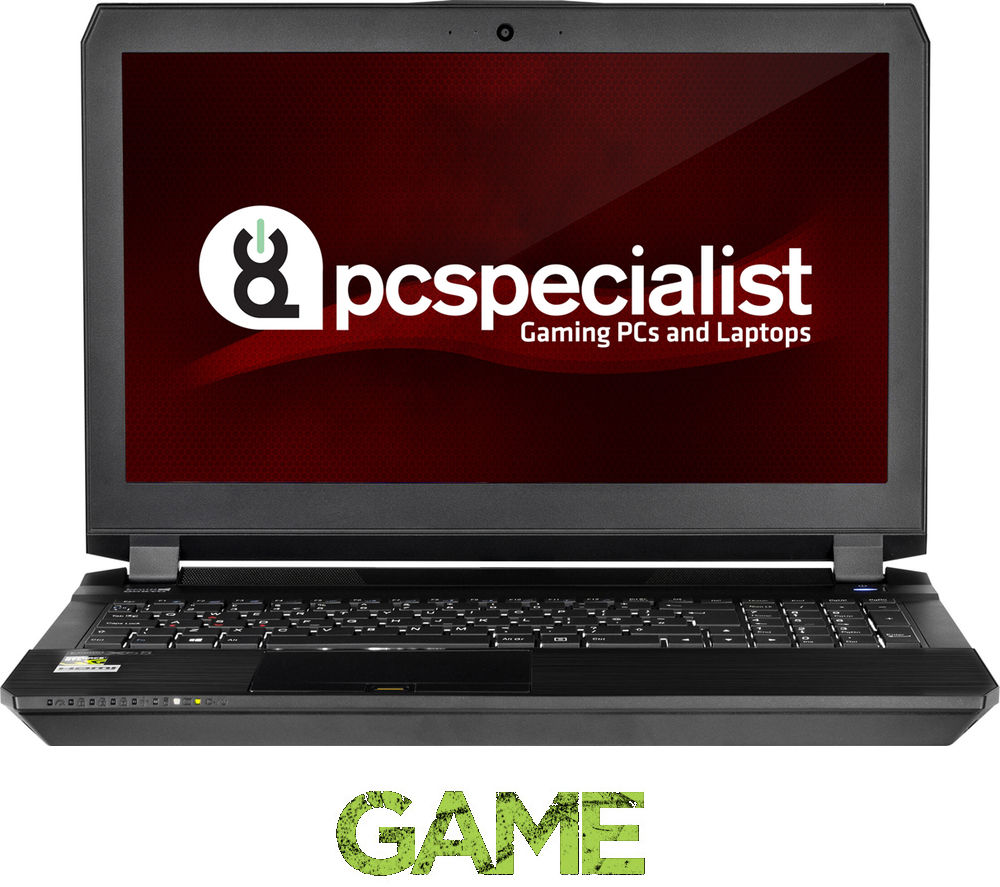"Image of Pc Specialist Defiance II 15.6"" Gaming Laptop - Black, Black"