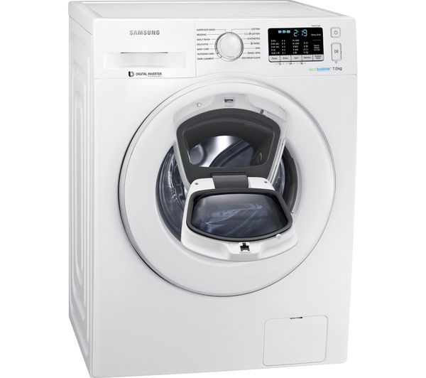 buy samsung addwash ww70k5410ww eu washing machine white free delivery currys. Black Bedroom Furniture Sets. Home Design Ideas