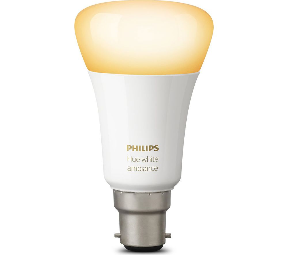buy philips hue ambience wireless bulb b22 free delivery currys. Black Bedroom Furniture Sets. Home Design Ideas