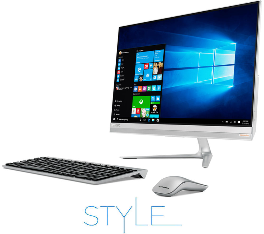 "LENOVO IdeaCentre AIO 510S 23"" Touchscreen All-in-One PC + Office 365 Personal + LiveSafe Unlimited 2016"