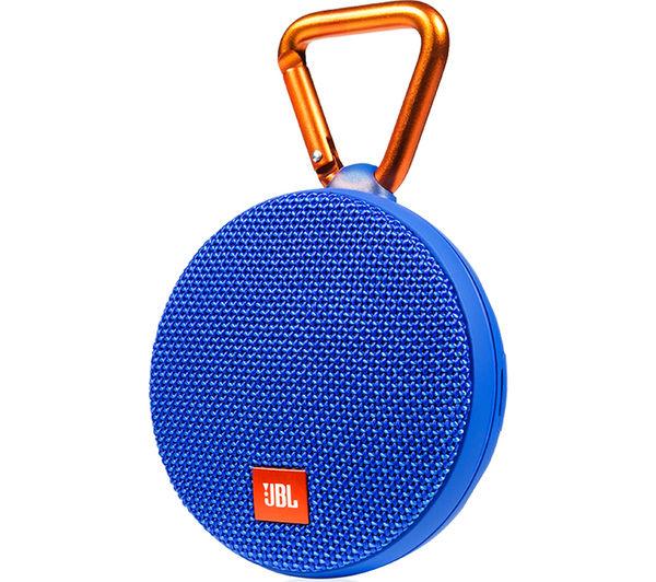 Image of JBL Clip 2 Portable Wireless Speaker - Blue