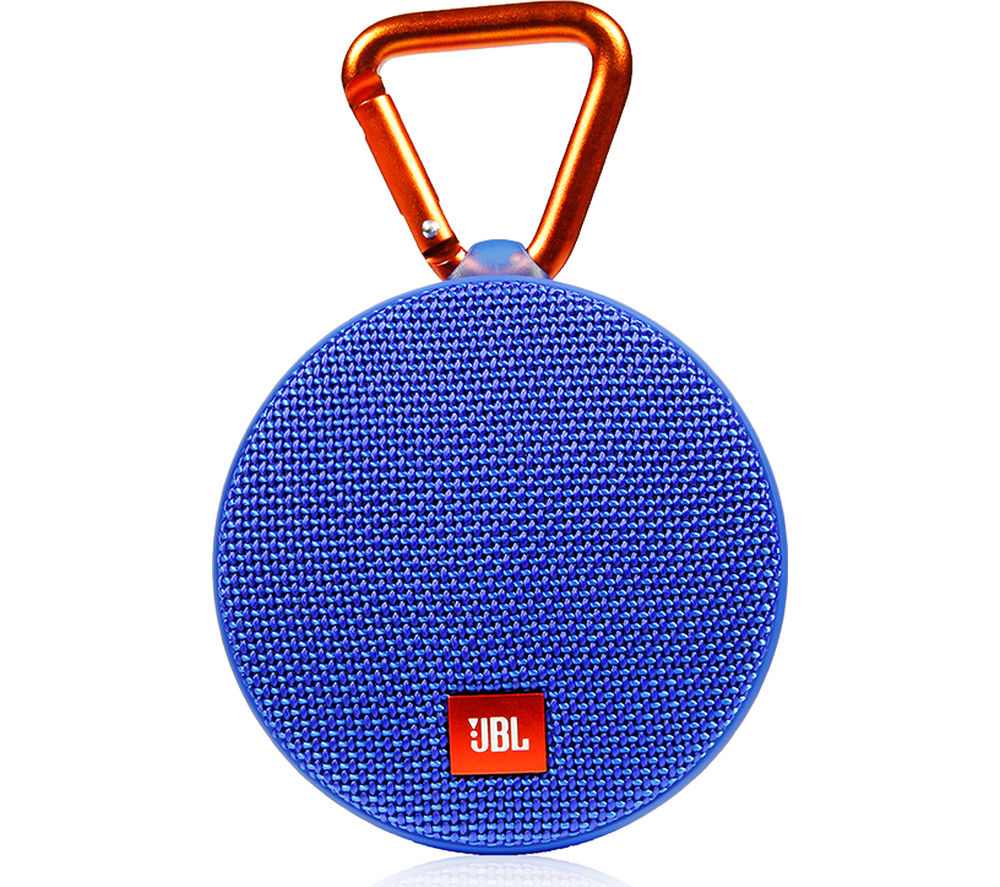 Click to view more of JBL  Clip 2 Portable Wireless Speaker - Blue, Blue