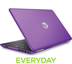 "HP Pavilion 15-au070sa 15.6"" Laptop - Purple"