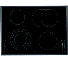 AEG HK764070FB Ceramic Hob - Black