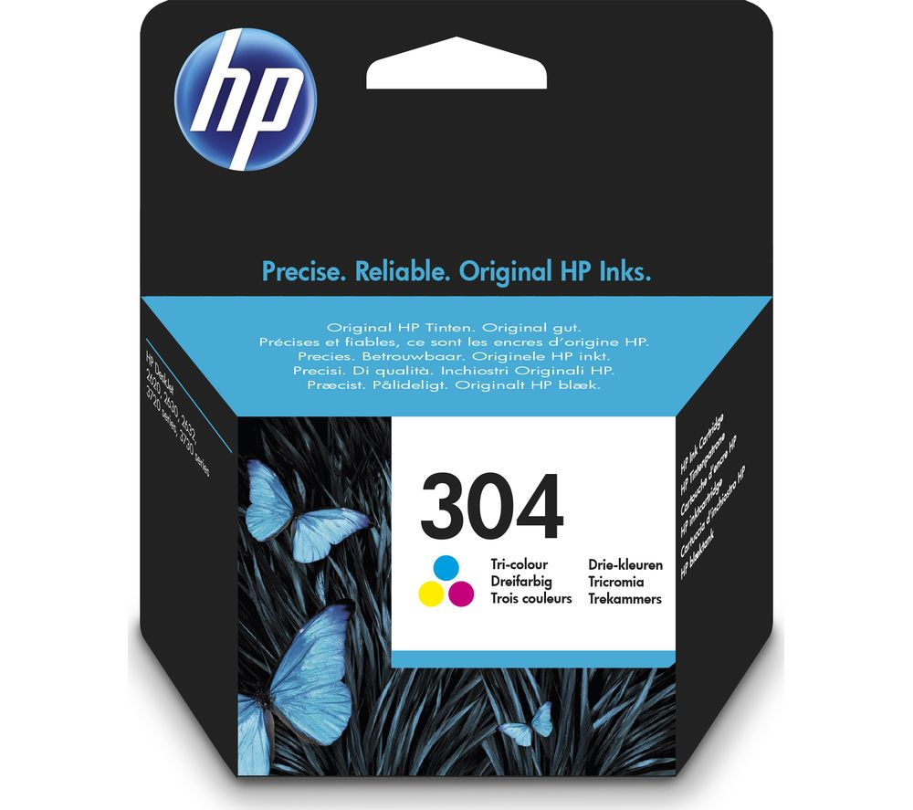 HP 304 Tri-colour Ink Cartridge