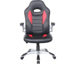 ALPHASON Talladega Gaming Chair - Black & Red