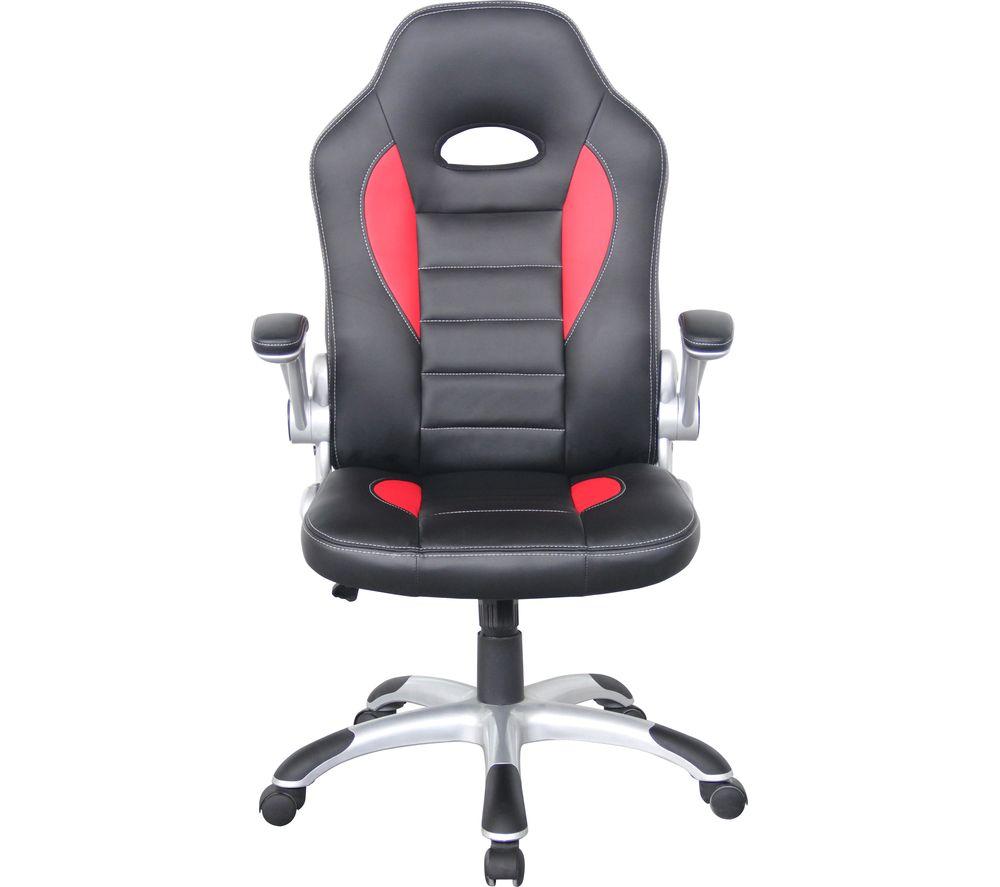 ALPHASON Talladega Gaming Chair - Black & Red