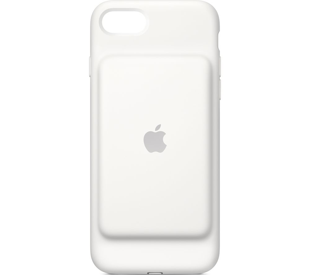 APPLE  iPhone 7 Smart Battery Case - White, White.