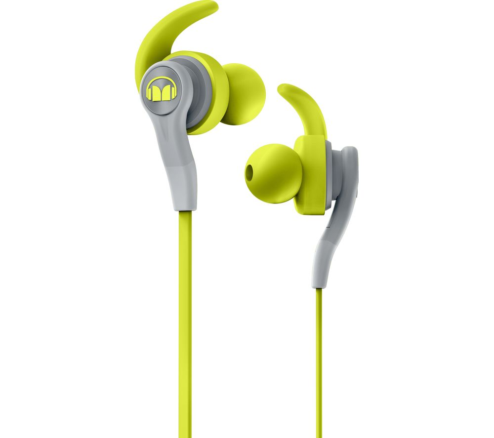 MONSTER iSport Complete Headphones - Green