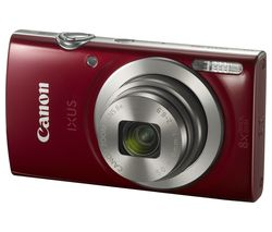 CANON IXUS 185 Compact Camera - Red