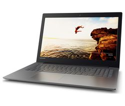 "LENOVO Ideapad 320-15IAP 15.6"" Laptop - Black"