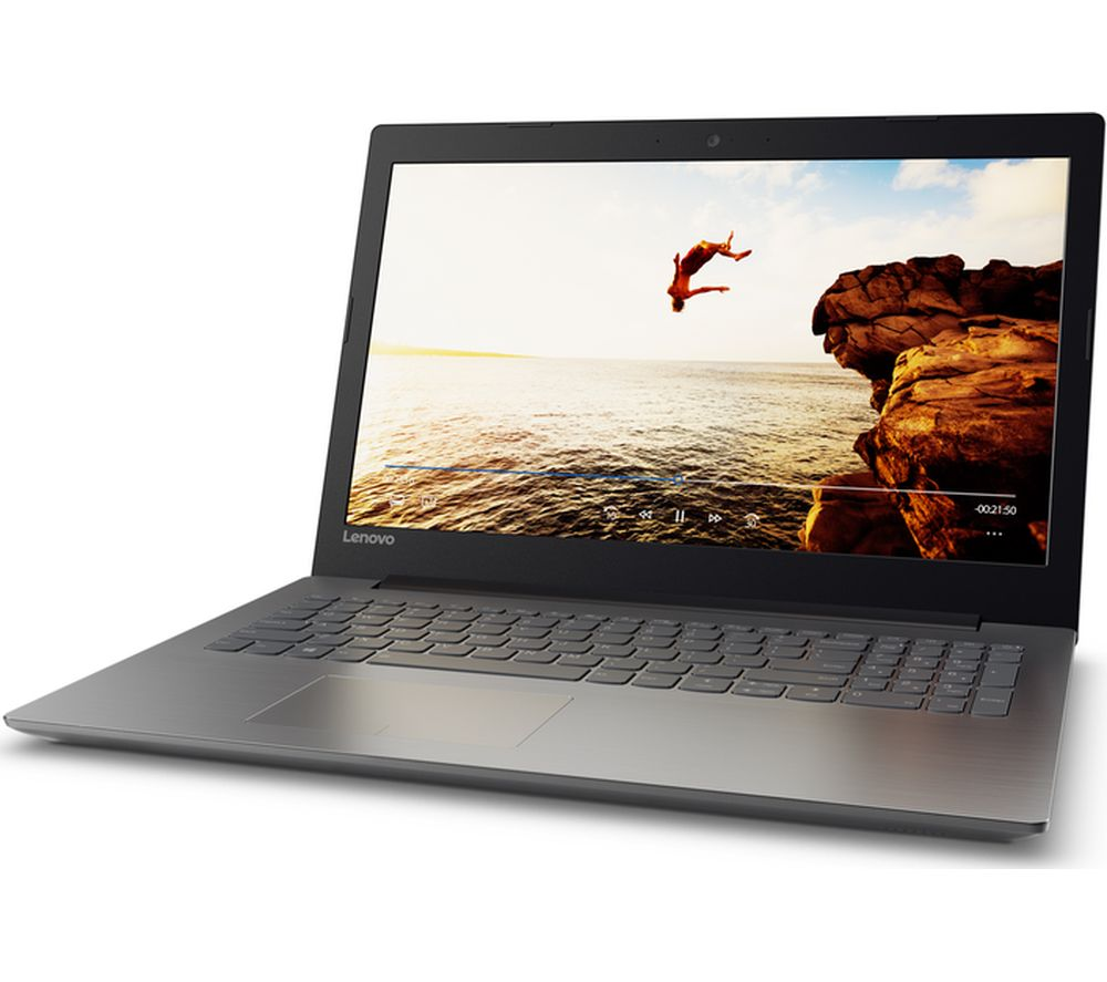 "LENOVO Ideapad 320-15IAP 15.6"" Laptop - Black + Office 365 Home + LiveSafe Unlimited 2017 - 1 year"
