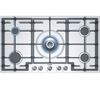 BOSCH Avantixx PCR915B91E Gas Hob - Brushed Steel