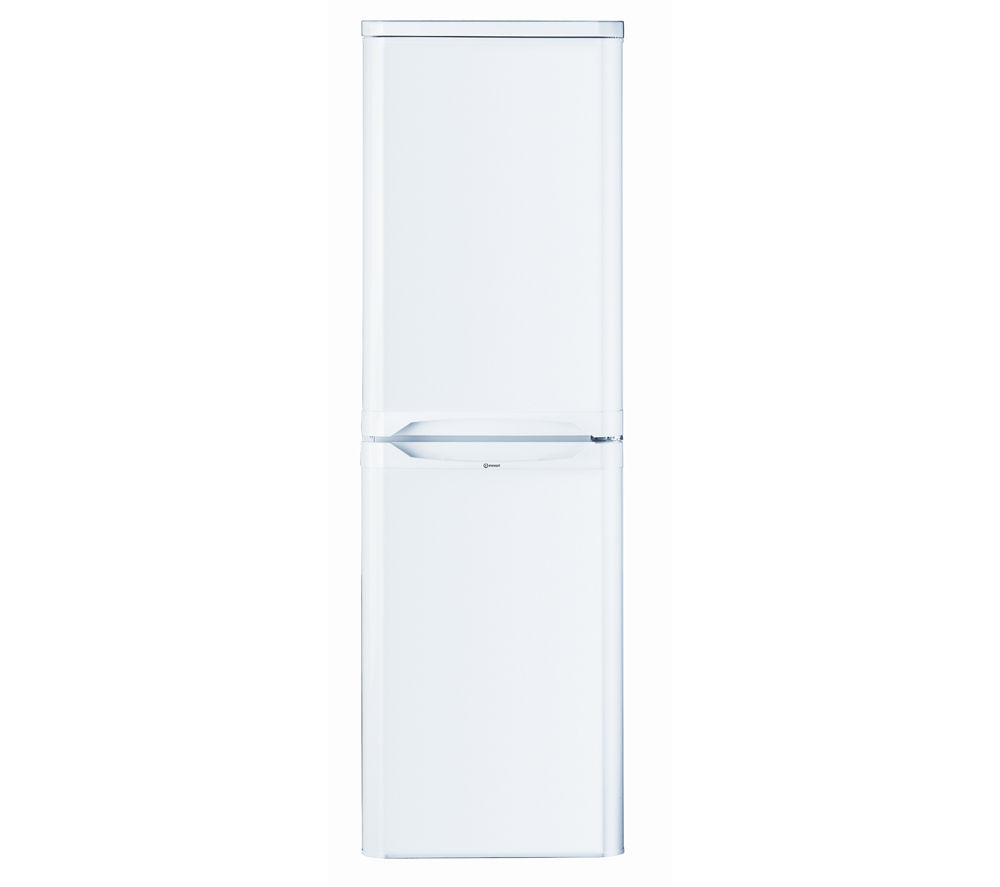 INDESIT CAA55 Fridge Freezer - White