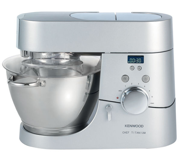 Buy kenwood kmc030 titanium chef kitchen machine silver for Kenwood cooking chef accessoire