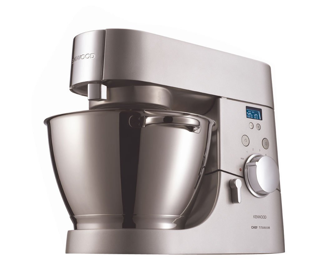 Kenwood KMC030 Titanium Chef Kitchen Machine - Silver, Titanium