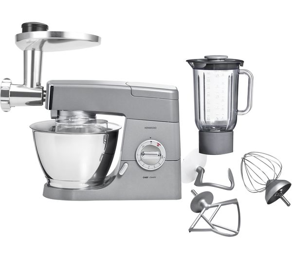 Kenwood KM331 Classic Chef Kitchen Machine - Silver, Silver
