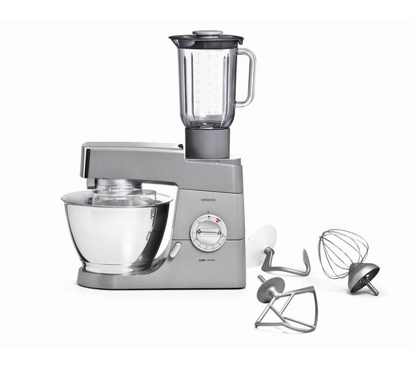 Buy kenwood km331 classic chef kitchen machine silver for Kenwood cooking chef accessoire