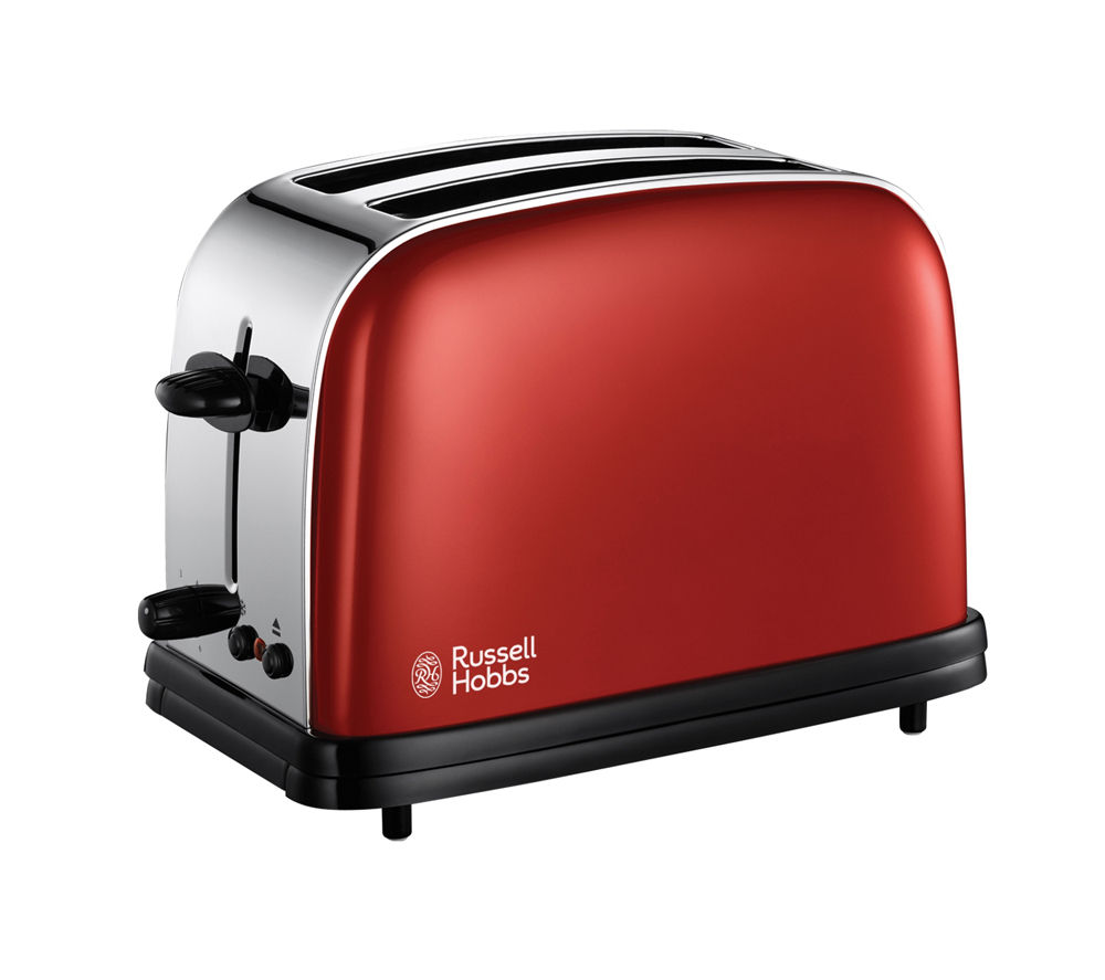 buy russell hobbs colours 18951 2 slice toaster red. Black Bedroom Furniture Sets. Home Design Ideas