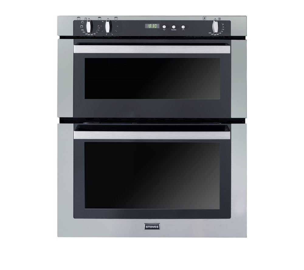 STOVES SEB700FPS Electric Built-under Double Oven - Stainless Steel