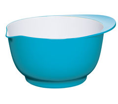 COLOURWORKS 24 cm Mixing Bowl - Blue & White
