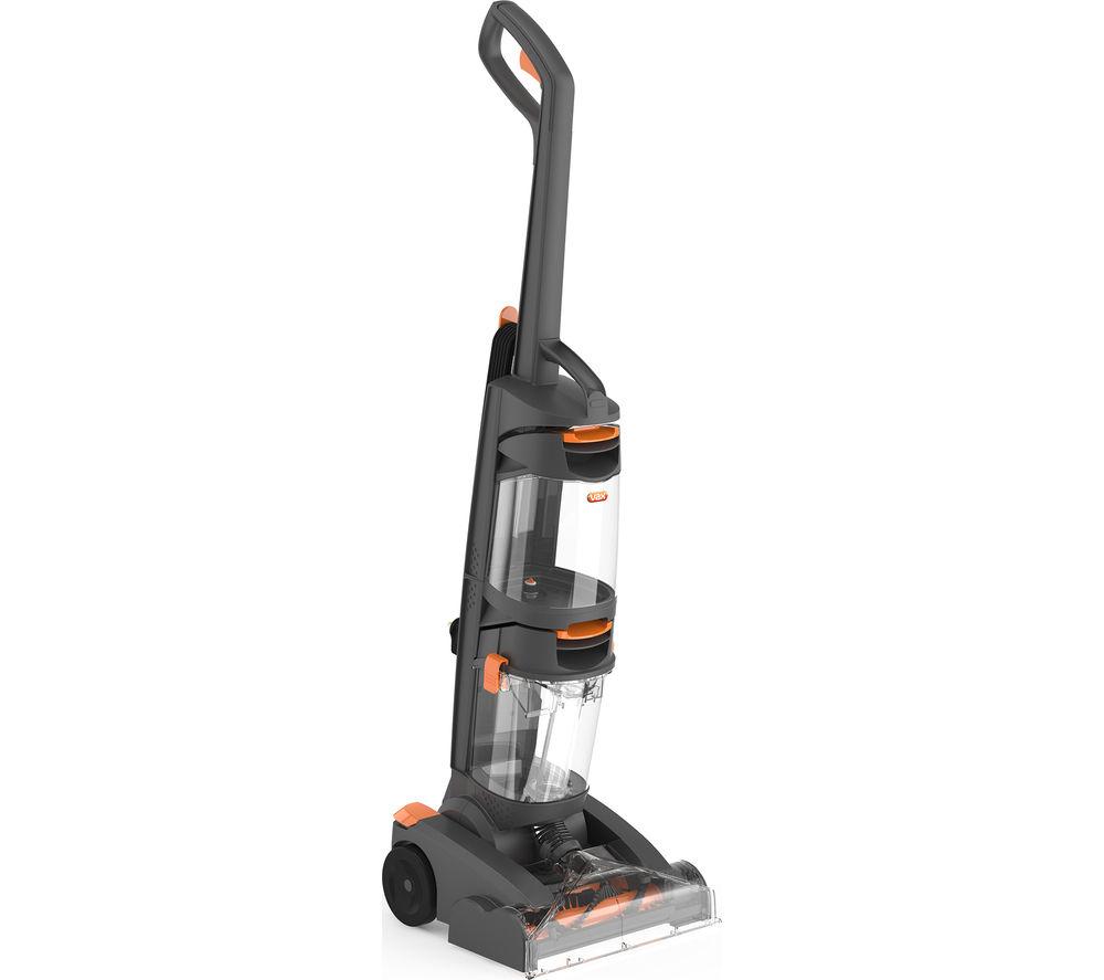 VAX W86-DP-B Dual Power Upright Carpet Cleaner - Grey & Orange