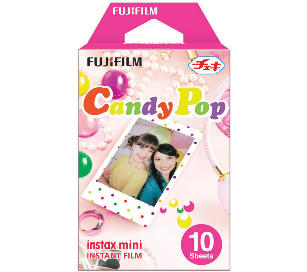 FUJIFILM Instax Mini Film - Candypop