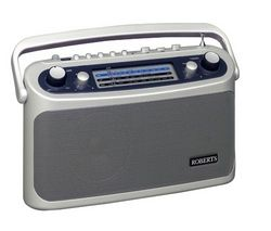 ROBERTS R9928 Portable Analogue Radio - Silver