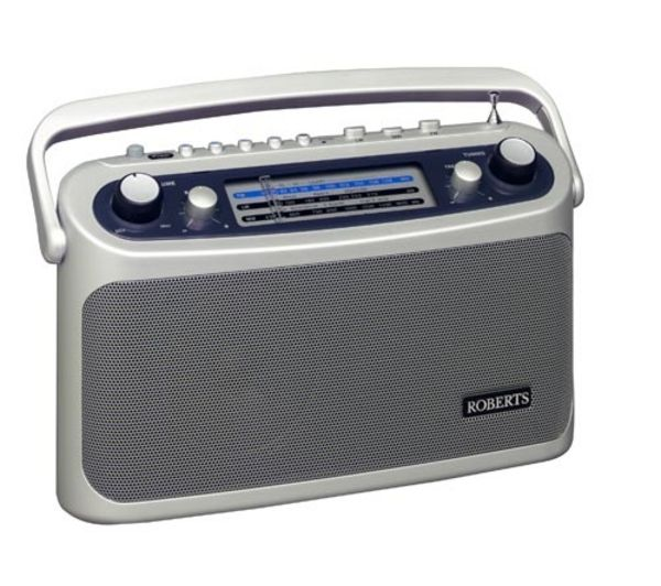 Click to view more of ROBERTS  R9928 Portable Analogue Radio - Silver, Silver