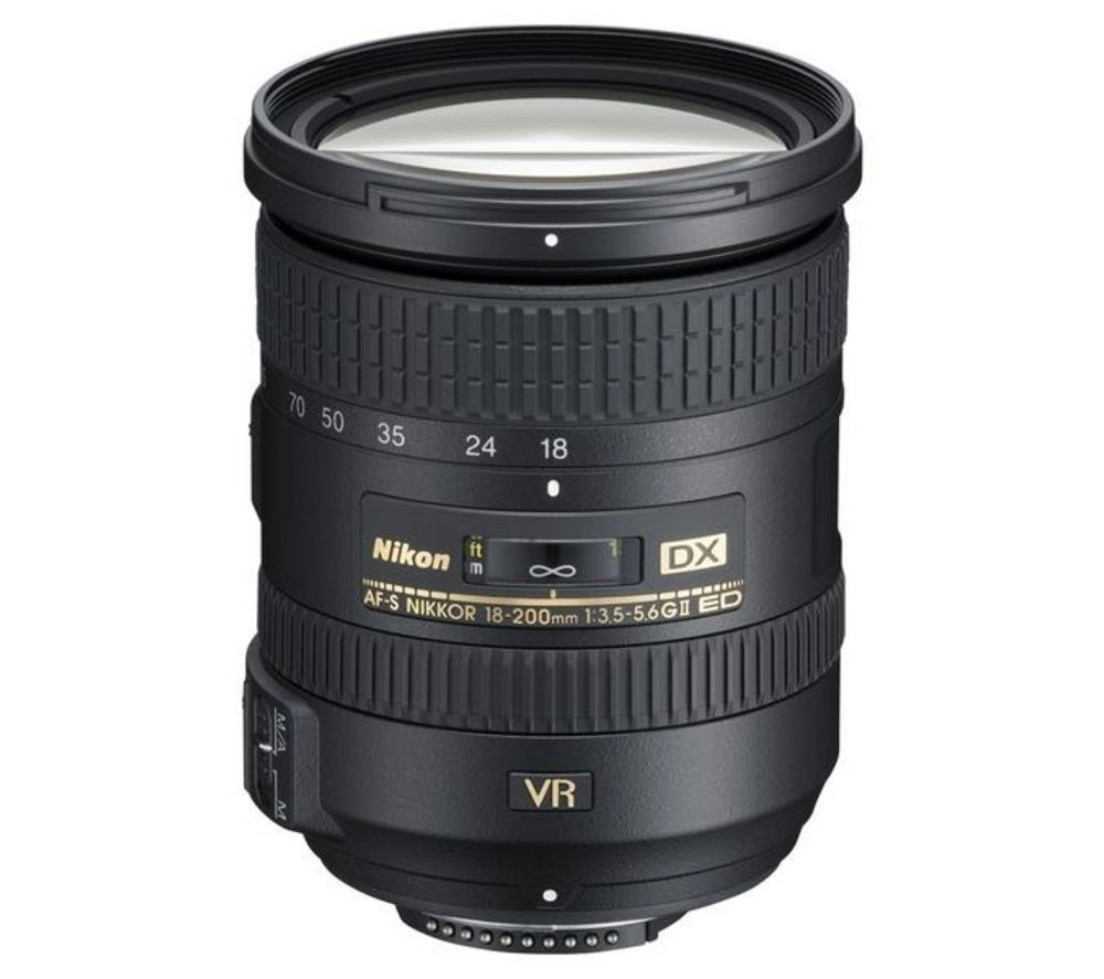 NIKON AF-S DX NIKKOR 18-200 mm f/3.5-5.6 G ED SWM VR II Telephoto Zoom Lens + DSLR Cleaning Kit