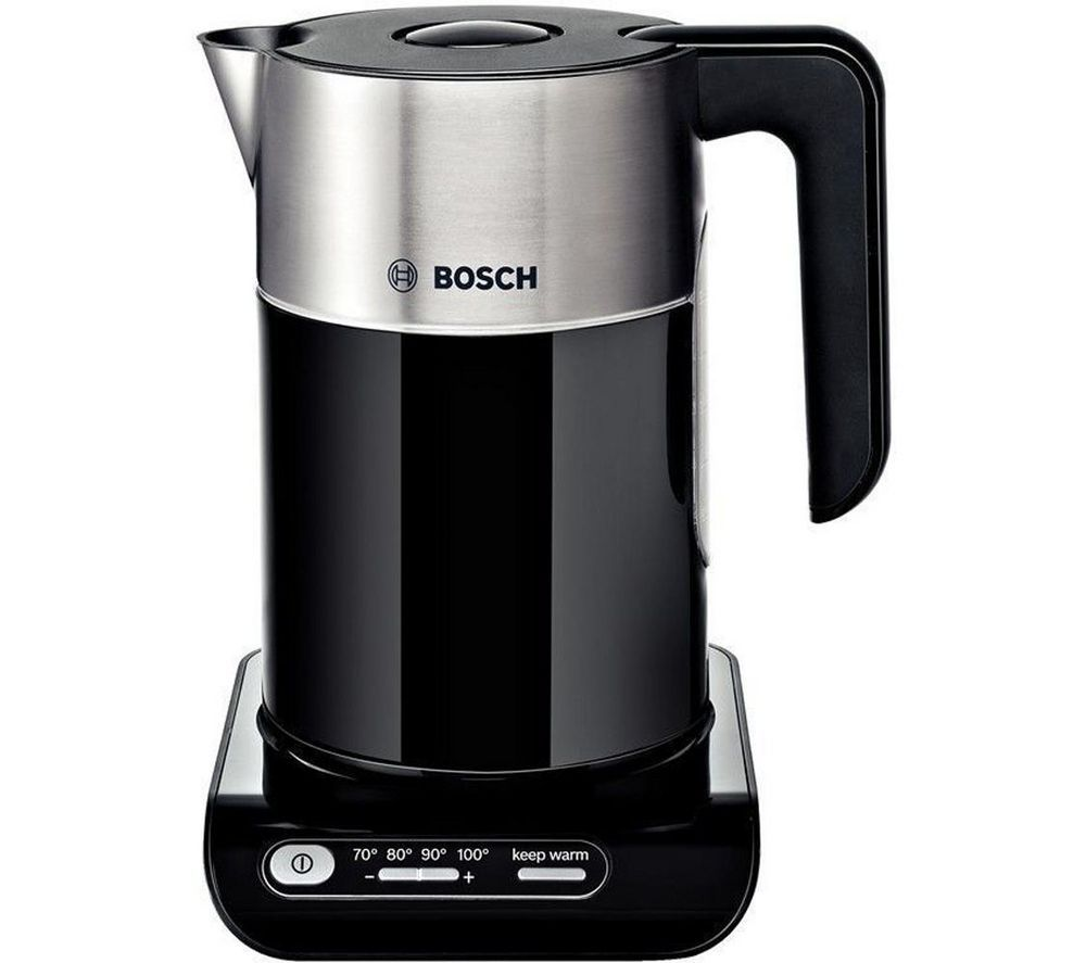 buy bosch styline twk8633gb jug kettle black free delivery currys. Black Bedroom Furniture Sets. Home Design Ideas